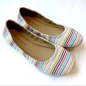Lucky Brand Emmie Rainbow Ballet Flats Size 8.5
